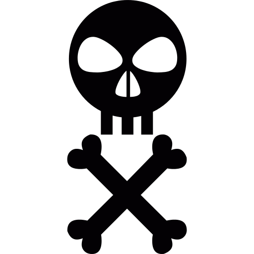 Skull And Crossed Bones Png Icon