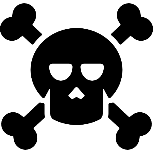 Halloween Skull And Crossbones Icons Free Download