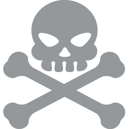 Skull And Crossbones Emoji For Facebook, Email Sms Id