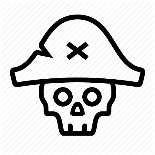 Pirate Skull Transparent Png Clipart Free Download
