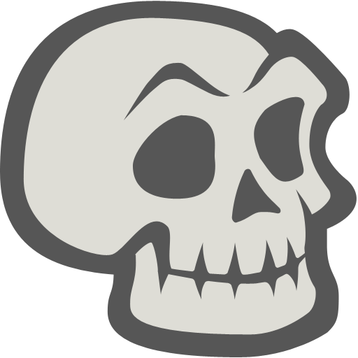 Skeleton, Skull Icon Free Of Halloween Icons
