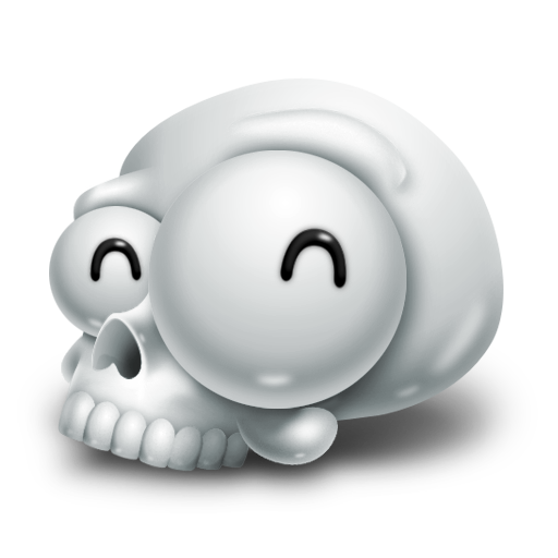 Skull Icon Kulo Iconset Reclusekc