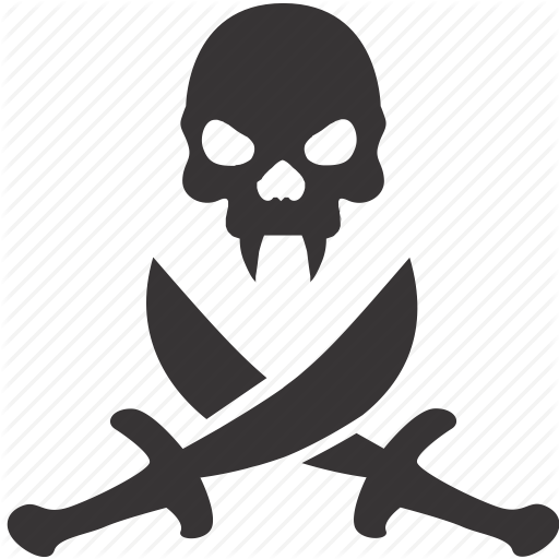 Sword Pirate Skull Huge Freebie! Download For Powerpoint