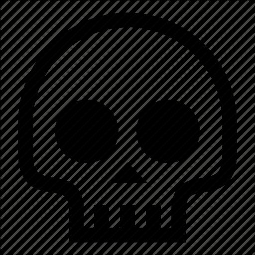 Bone, Cranium, Halloween, Illuminati, Occult, Skeleton, Skull Icon