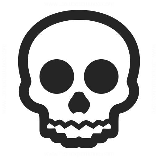 Skull Icon Iconexperience