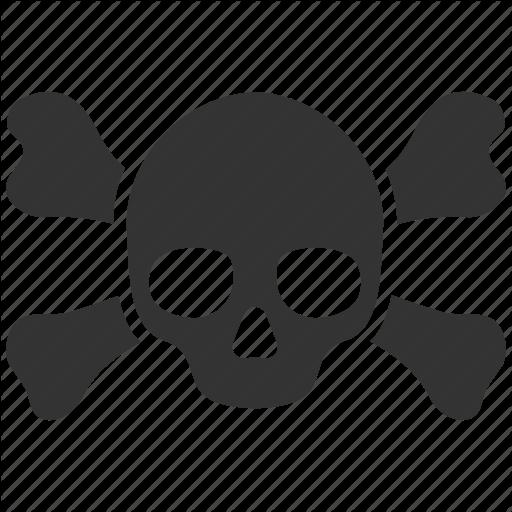 Danger, Dead, Death, Evil, Poison, Skeleton, Skull Icon