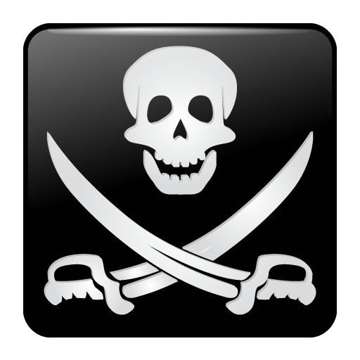 Pirate, Flag, Sword, Skull Icon Free Of Torrent Icons