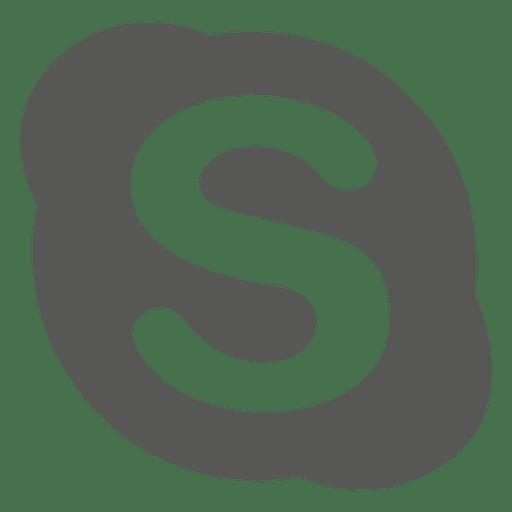 Skype Silver Icon