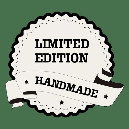 Limited Edition Handmade Round Label