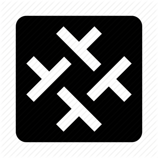 Abstract, Figure, Lines, Mark, Sign, Slack Icon