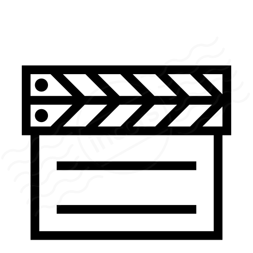 Iconexperience I Collection Clapperboard Closed Icon