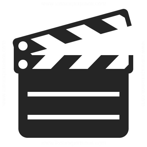Clapperboard Icon Iconexperience