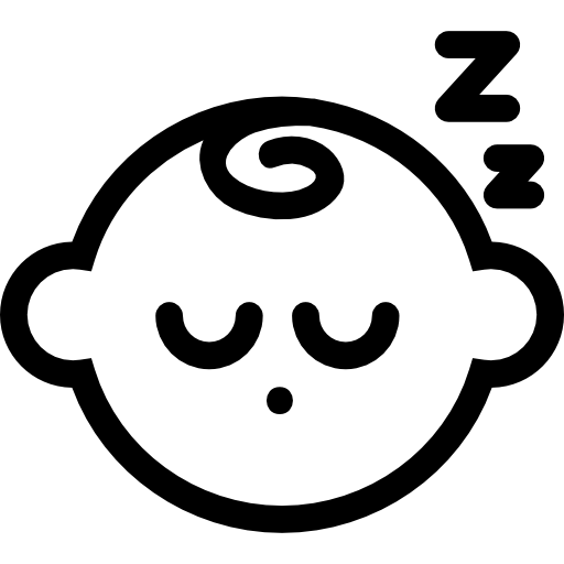 Sleeping Baby Icons Free Download