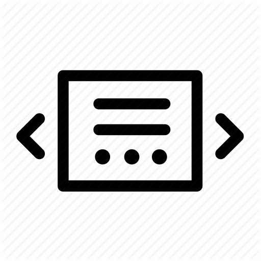 Carousel, Image, Interface, Site, Slider Icon