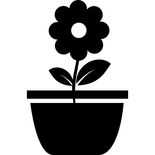 Flower Pot Icons Free Download