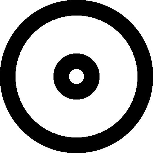 Wheel Symbol, Big Circle, Small Circle, Shapes, Round Shape, Donut