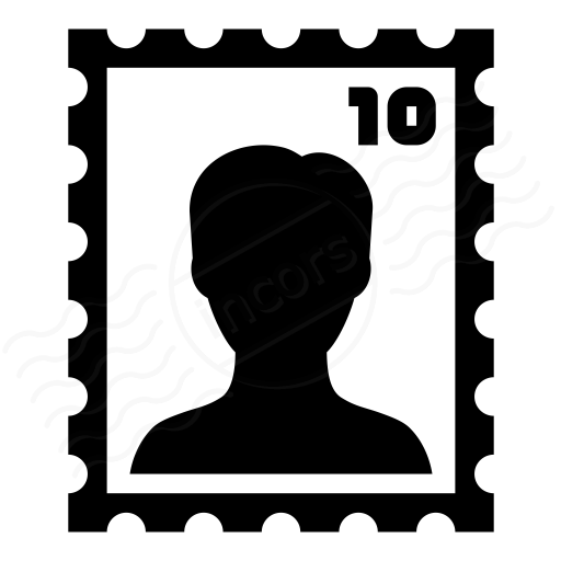 Iconexperience I Collection Postage Stamp Icon