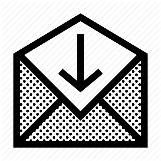 Correspondence, Envelope, Inbox, Incoming, Letter, Mail, Received Icon