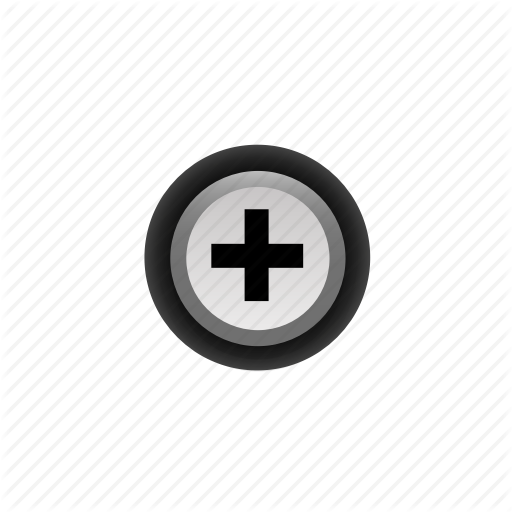 Add, Buttons, Navigation, Plus, Pressed, With Icon