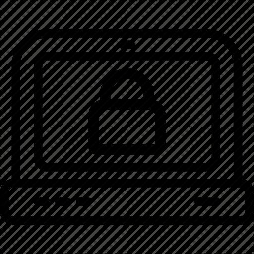 Computer, Laptop, Lock, Notebook, Password, Pc, Security Icon