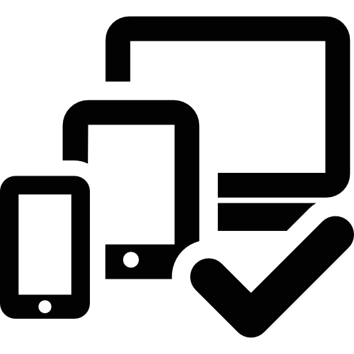 Tablet Smartphone Computer Checked