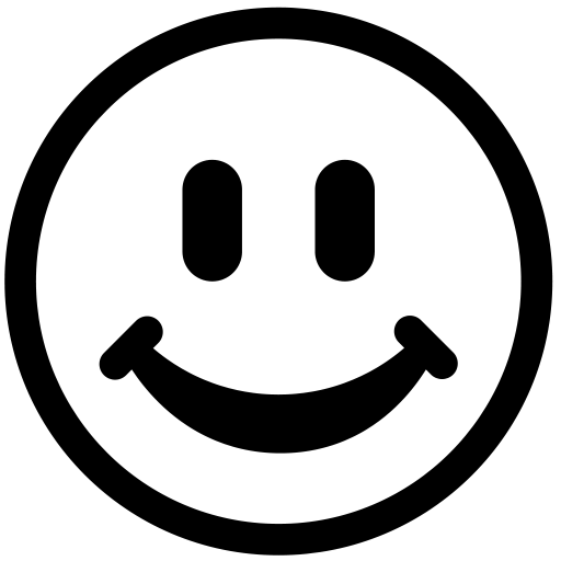 Png Happy Face Black And White Transparent Happy Face Black