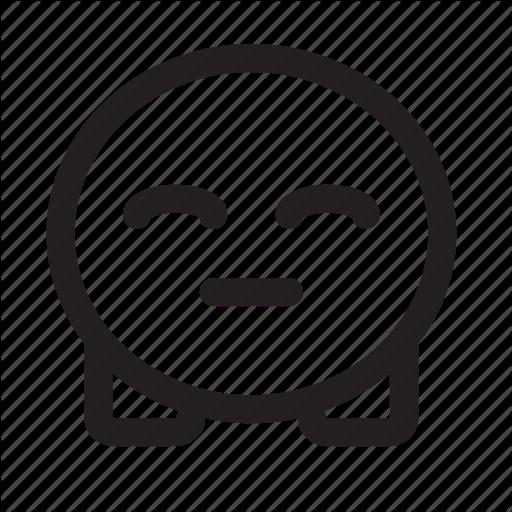 Cute, Emoji, Smile Icon