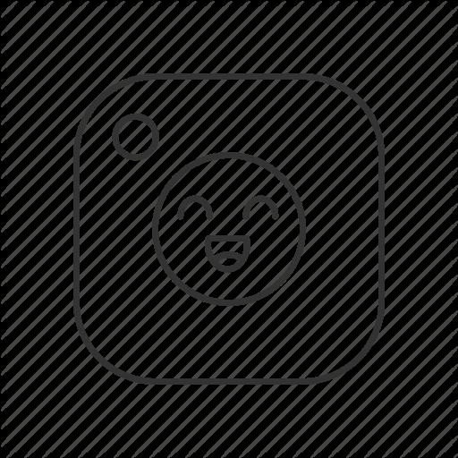 App, Cheerful, Emoji, Emoticon, Happy, Smile, Social Media Icon