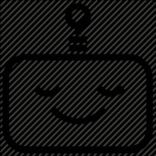Emoticon, Robot, Smile Icon
