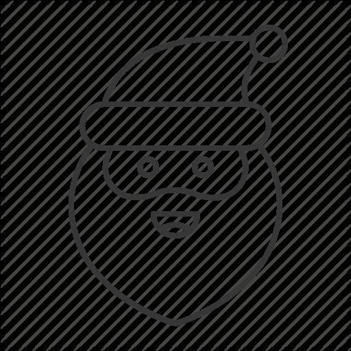Avartar, Emoji, Santa, Santa Claus, Smile Icon