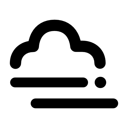 Fog With Cloud Icons Free Download