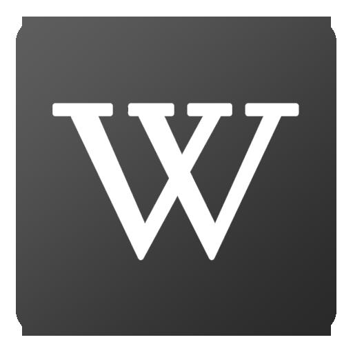 Wikipedia Icon Flat Gradient Social Iconset Limav