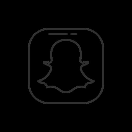 Social Media, Snapchat, Logo, Name Icon
