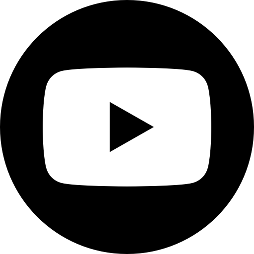 App, Bw, Logo, Media, Popular, Social, Youtube Icon
