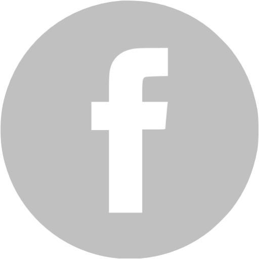 Silver Facebook Icon