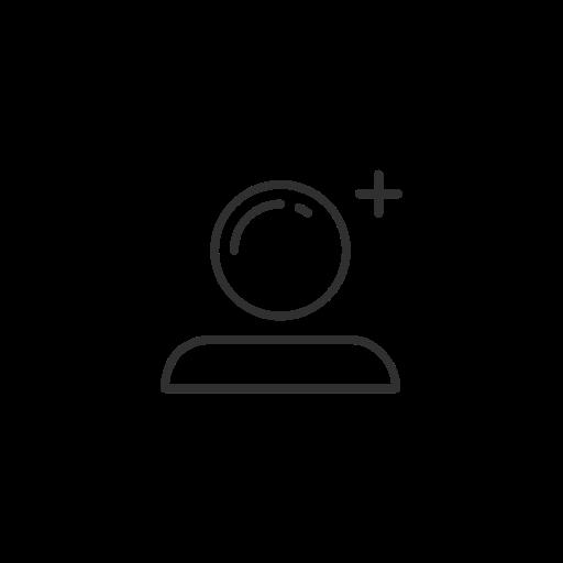 Add, Add User, Profile, Snapchat Icon