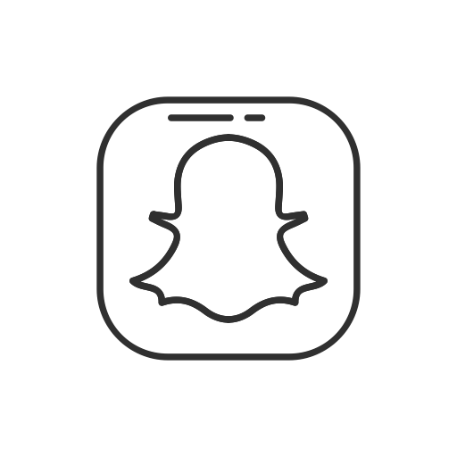Simple Snapchat, Snapchat Button, Snapchat Logo, Social Media Icon