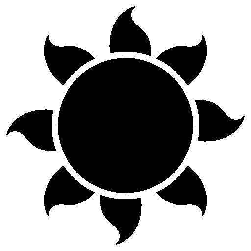 Icon Transparent Sun