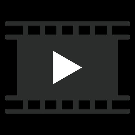 Movie Player Flat Icon