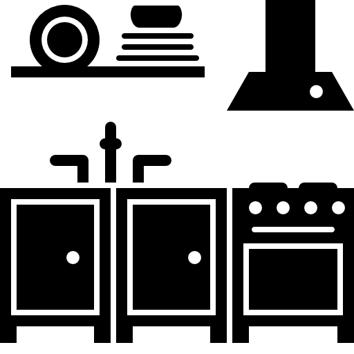 Kitchen Furniture Free Vector Icons Designed