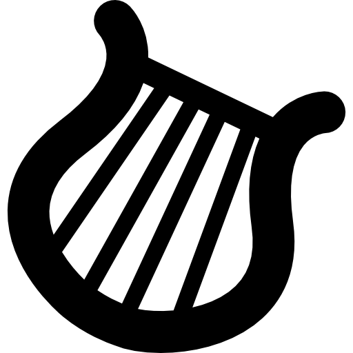 Musical Harp Icons Free Download