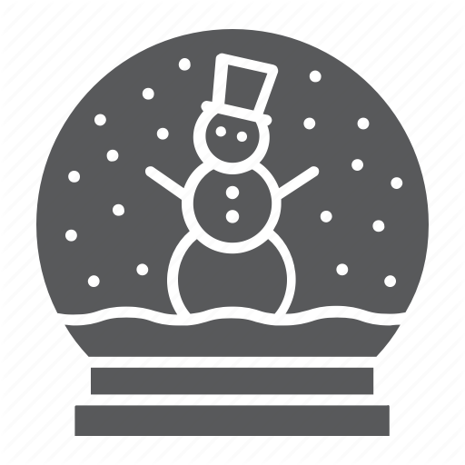 Christmas, Crystal, Globe, Snow, Snowball, Winter, Xmas Icon