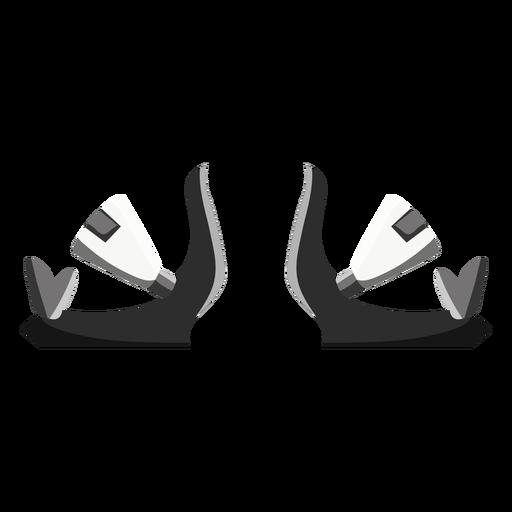 Snowboard Bindings Icon