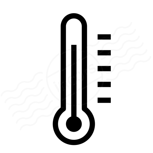Iconexperience I Collection Thermometer Icon
