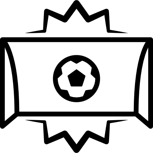 Soccer Goal Ball Entrance Centered In Arch Icons Free Download