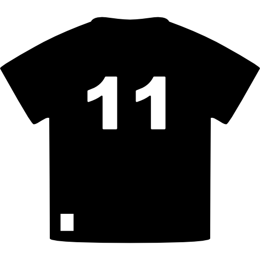 Brazil Soccer Player T Shirt Of Number Icons Free Download