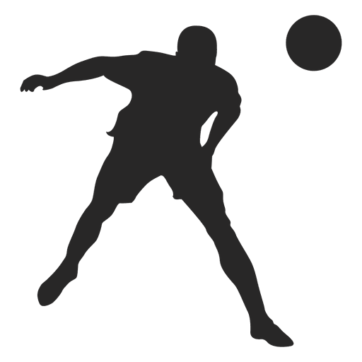 Footballer Vector Football Kick Transparent Png Clipart Free