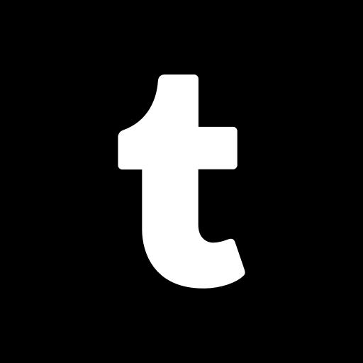 App, Bw, Logo, Media, Popular, Social, Tumblr Icon