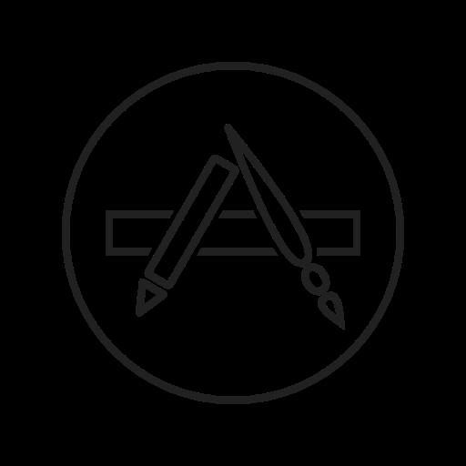 Appstore, Social Network Icon Free Of Social Media Logos I