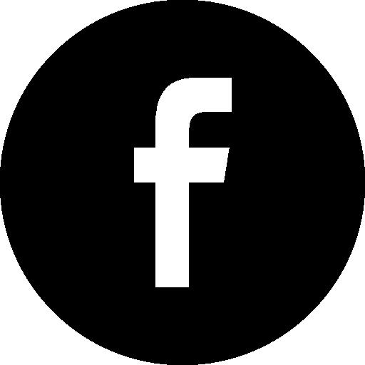 Facebook Black Social Button Circle Icons Free Download